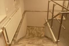 6. Fliesenarbeiten ca. 300m² Boden und 200m² Wand 14m² Mosaik