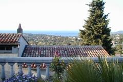 Südfrankreich - Blick auf Meer